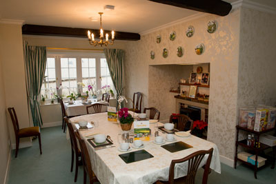Weirmill B&B Dining Room